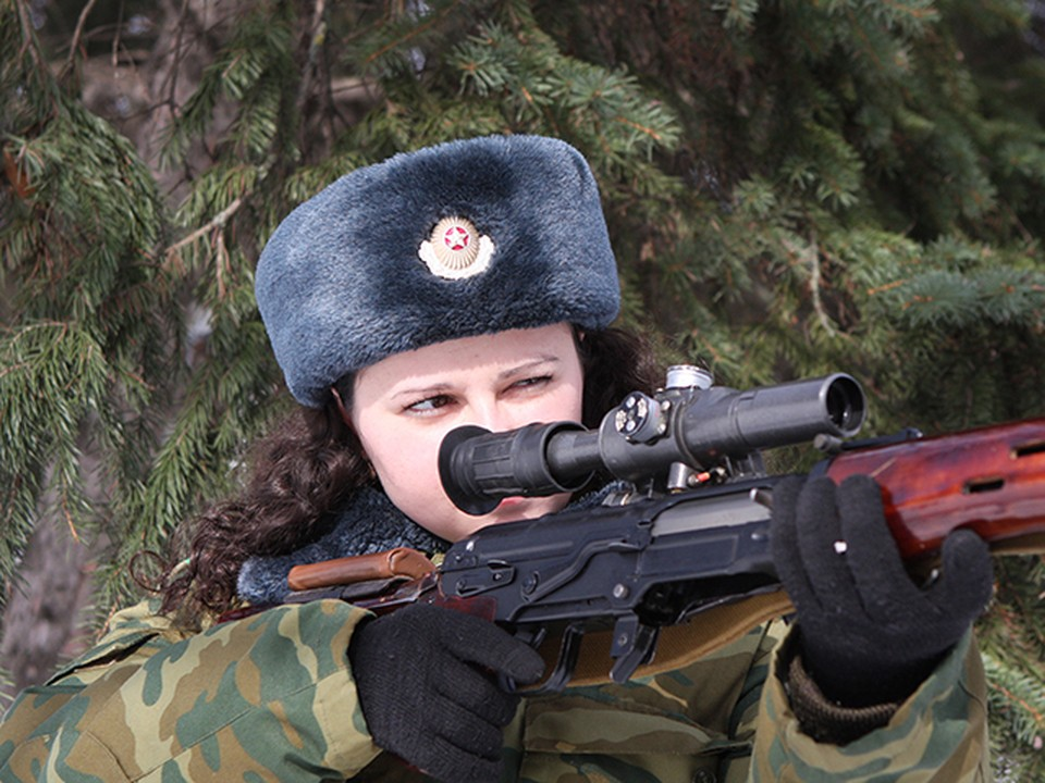Фото с сайта minsknews.by В армии Беларуси служат более 4 тысяч женщин