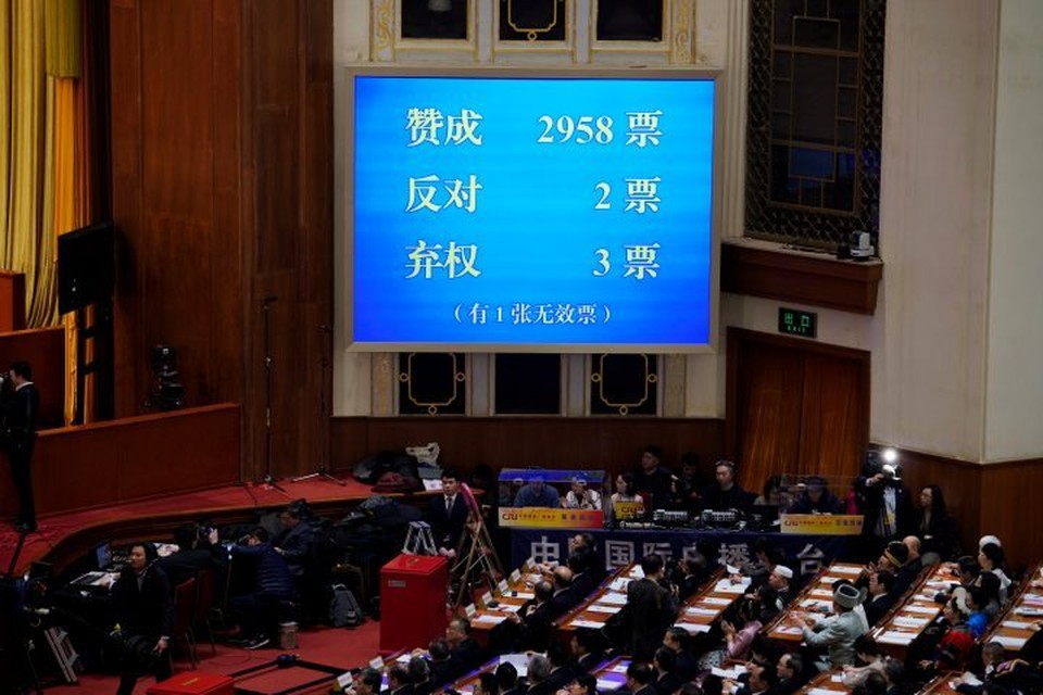 Китайские депутаты разрешили председателю КНР править бессрочно