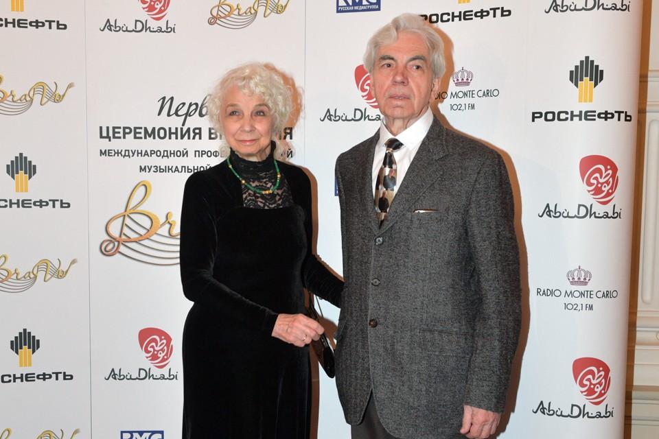 Родители Дмитрия Хворостовского - Людмила Петровна и Александр Степанович