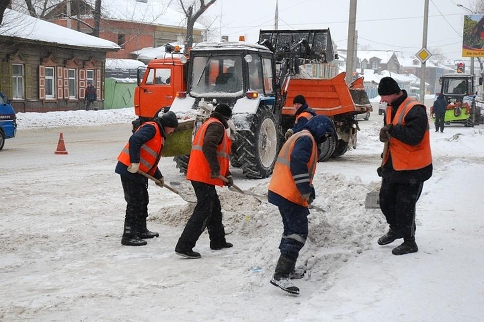В Иркутске из-за снегопада возможны паводки