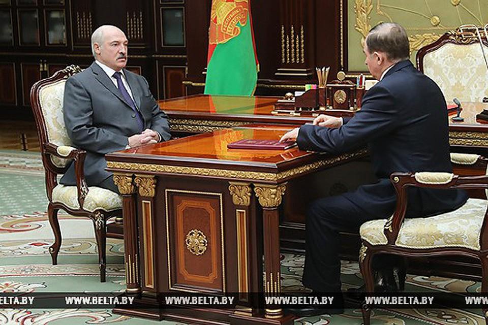 Шейман рассказал Лукашенко о своей поездке в Зимбабве. Фото: БелТА.