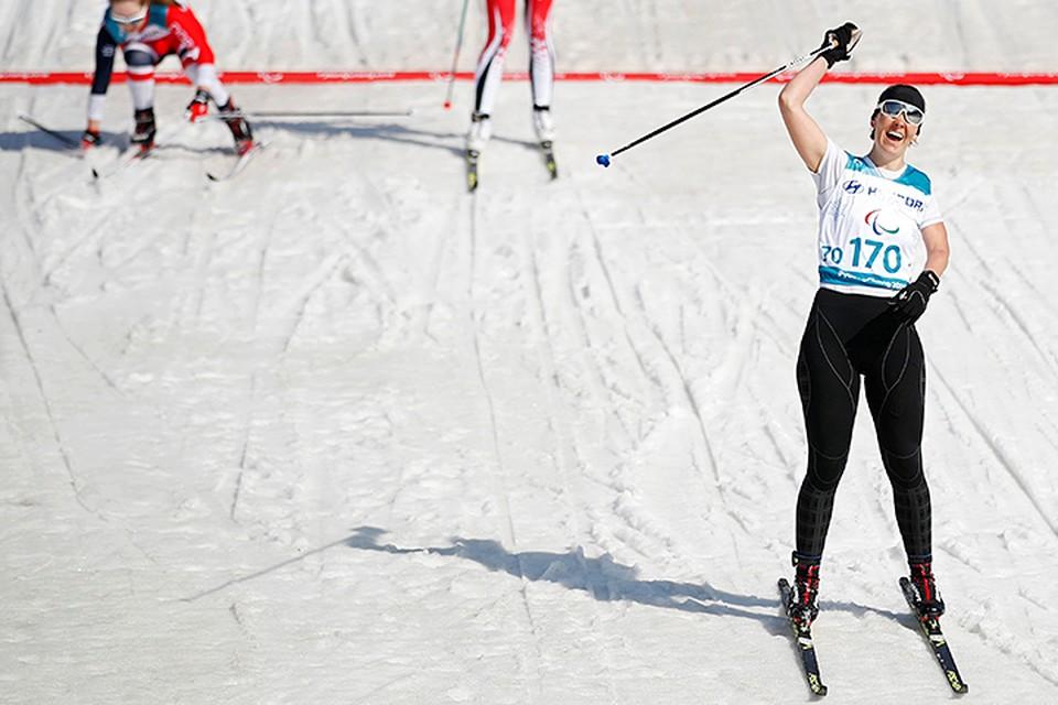Миленина после двух побед в Пхенчхане на лыжне стала семикратной чемпионкой Паралимпийских игр