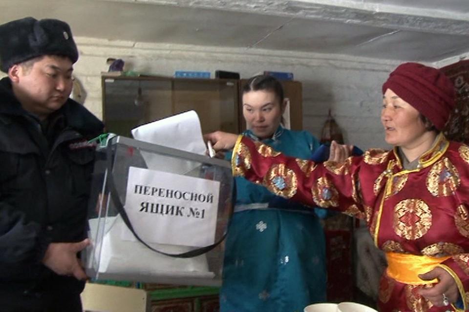 Организовать голосование в таком регионе, как Тува, не просто. Фото: предоставлено пресс-службой правительства Республики Тыва