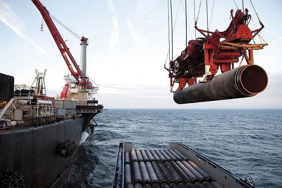 """Для строительства газопровода """"Северный поток - 2"""" Москва сумела заручиться поддержкой пяти ключевых компаний из стран-членов ЕС. Фото: с сайта nord-stream.com"""
