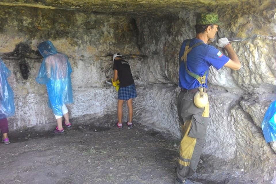 В экспедицию берут всех. Фото: Архив участников проекта «АрхеоМост. Путь к древнему Крыму».