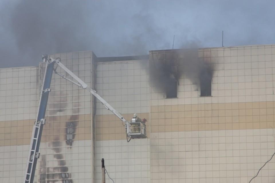 Названы две основные версии причин пожара в кемеровской «Зимней вишне»