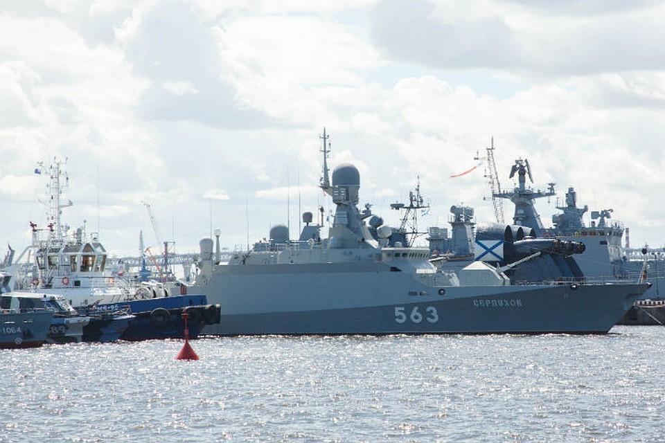 Перемещение Каспийского флота начнется в 2019 году.