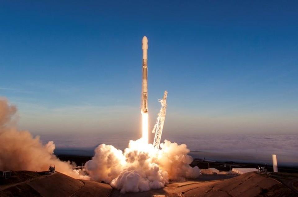 Старт Falcon 9 с мыса Канаверал. Фото: пресс-служба SpaceX.