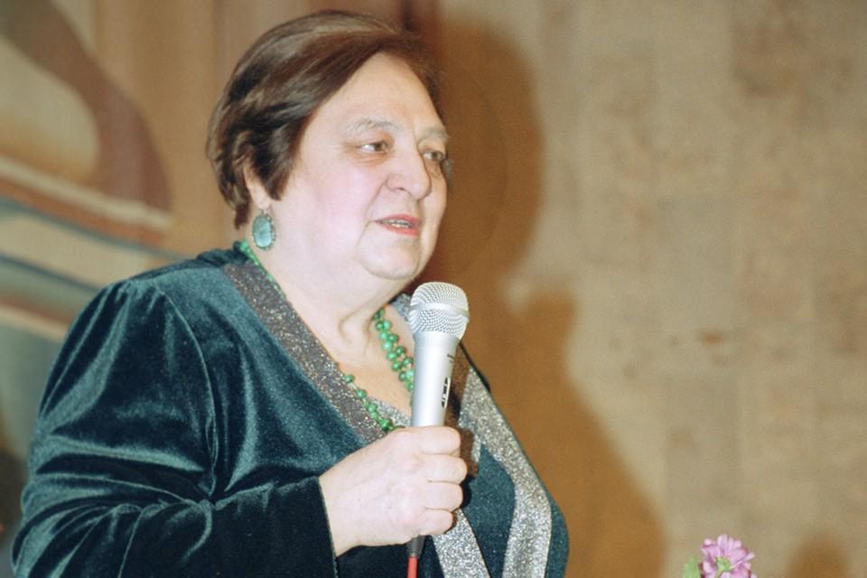 Ирина Токмакова в 2002 году. Фото Татьяны Балашовой (ИТАР-ТАСС).