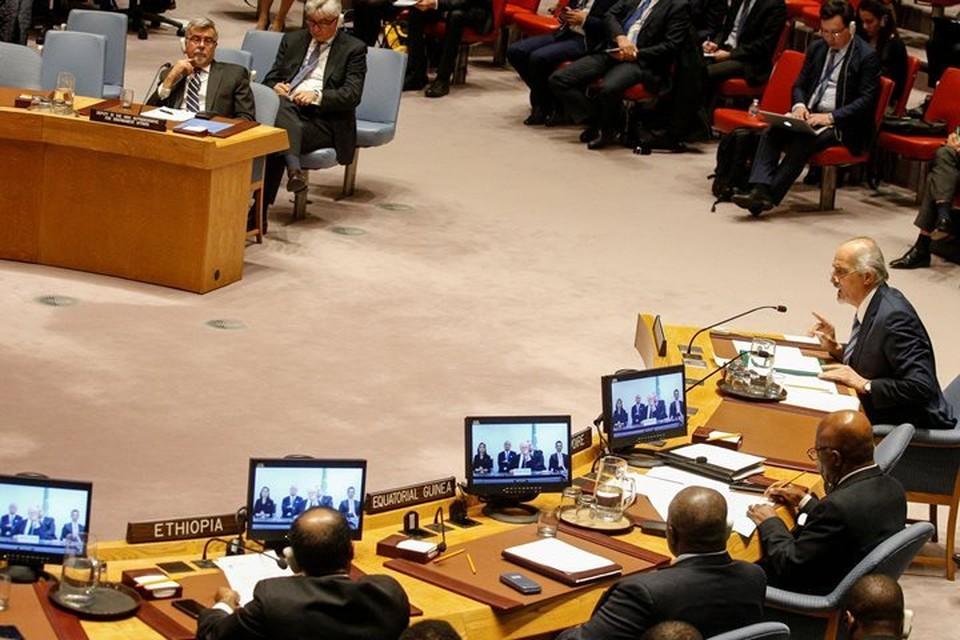 Совбез ООН не смог одобрить ни одну из трех резолюций по Сирии