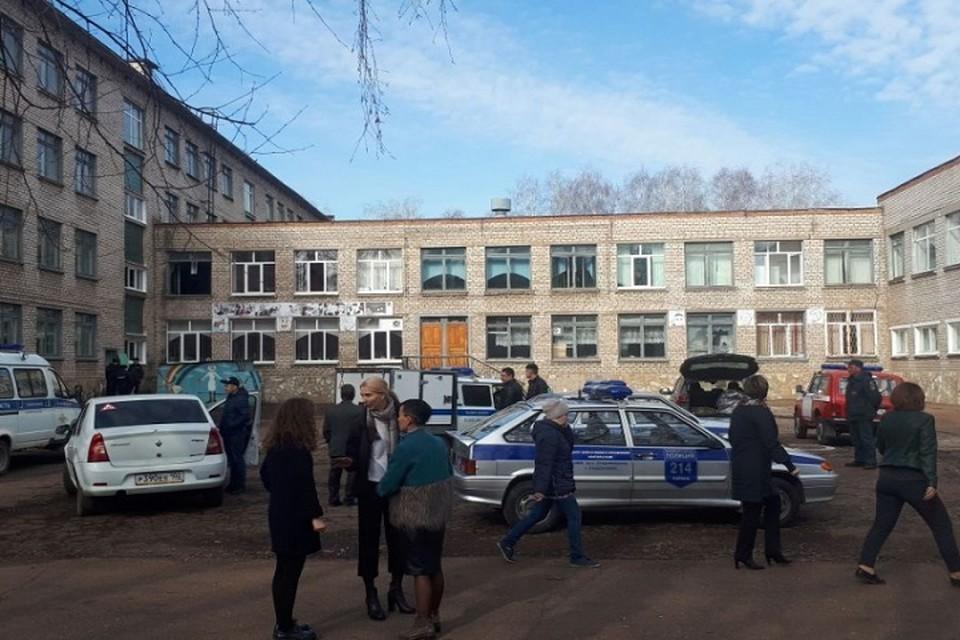Ученик школы №1 Стерлитамака напал на одноклассников с ножом, поджег класс и попытался убить себя