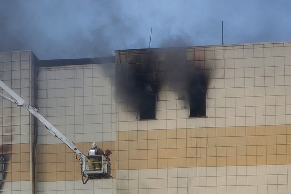 Пожар в «Зимней вишне» произошел 25 марта и унес жизни 64 человек