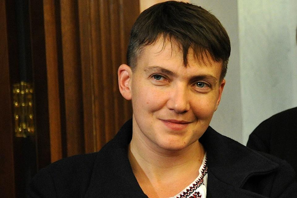 Депутат Верховной рады Надежда Савченко, подозреваемая в подготовке государственного переворота на Украине