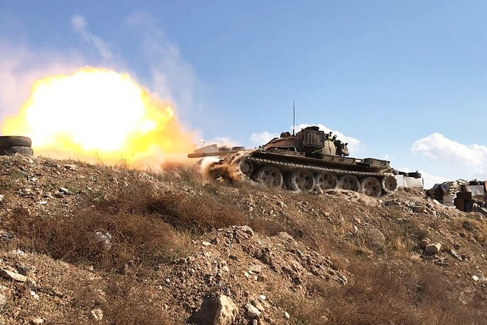 Сирийские военные нашли пол Дамаском ПРО боевиков