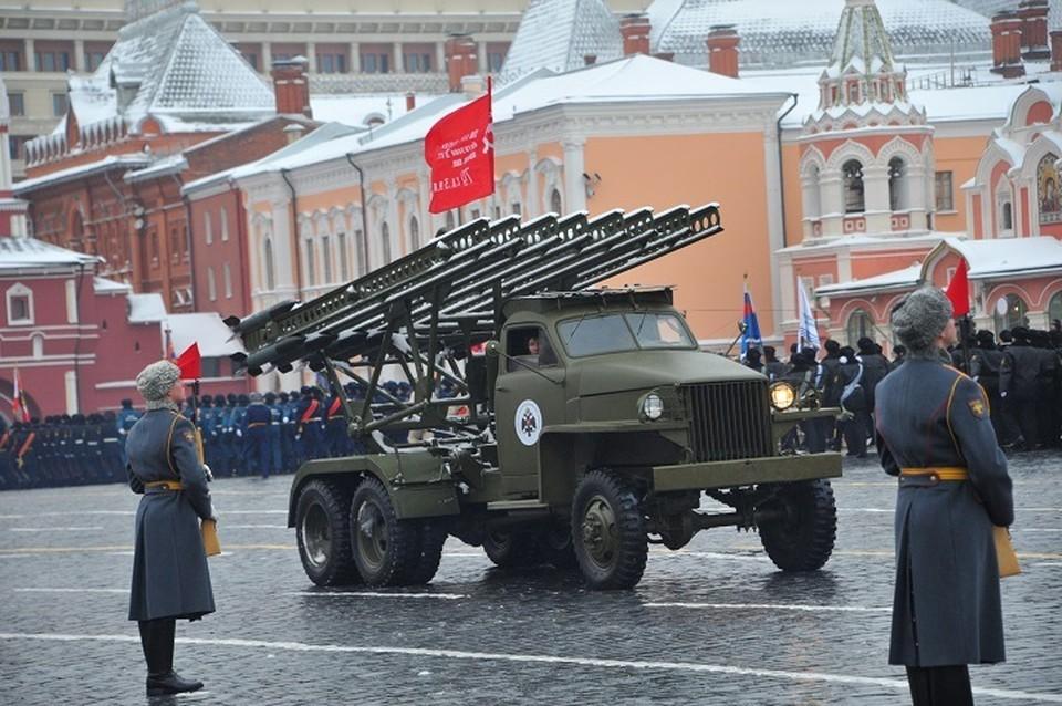 Впервые в этом году будет задействована техника военных лет, в том числе и легендарная БМ-13 «Катюша».