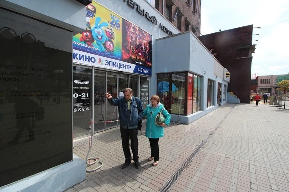 8855754b5242 Отсутствуют вентиляция, оповещение и пути эвакуации  Почему закрыли торговые  центры в Калининграде