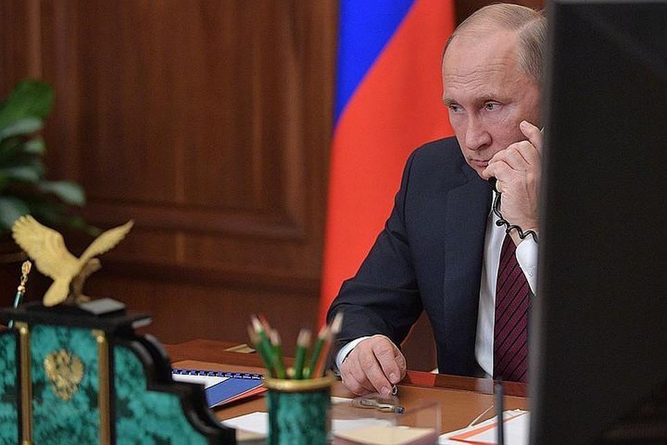 ФОТО Алексей Дружинин/пресс-служба президента РФ/ТАСС