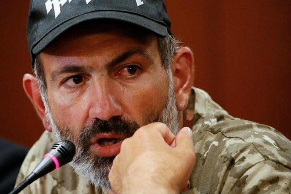Оппозиционер Никол Пашинян, возглавляющий протесты в Армении