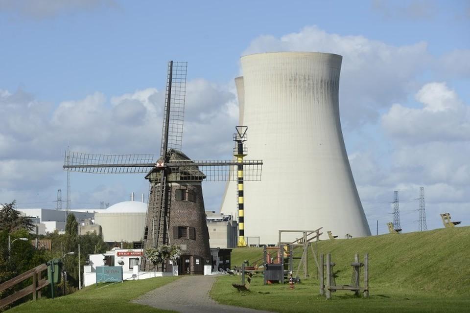 Атомная электростанция «Дул», расположенная в бельгийской провинции Восточная Фландрия