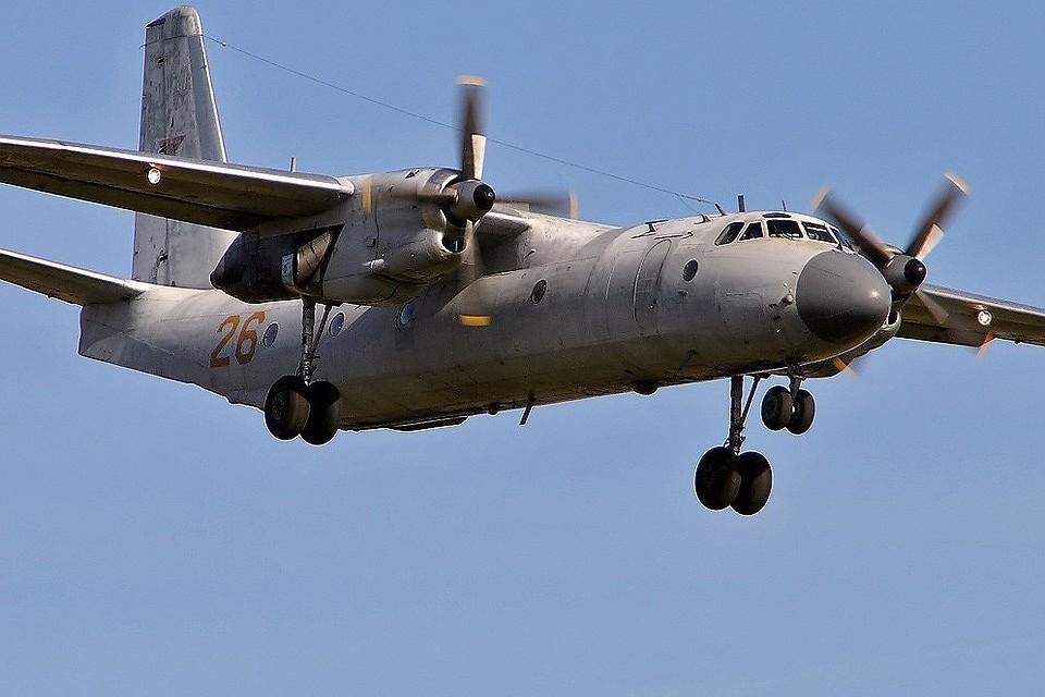 Самолет Ан-26 Министерства обороны РФ