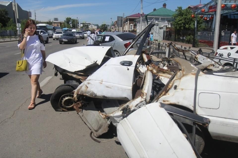 Число аварий из-за плохих дорог зашкаливает.