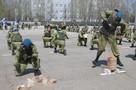 Ульяновские десантники отметили юбилей своей бригады парашютными прыжками и победой над «террористами»