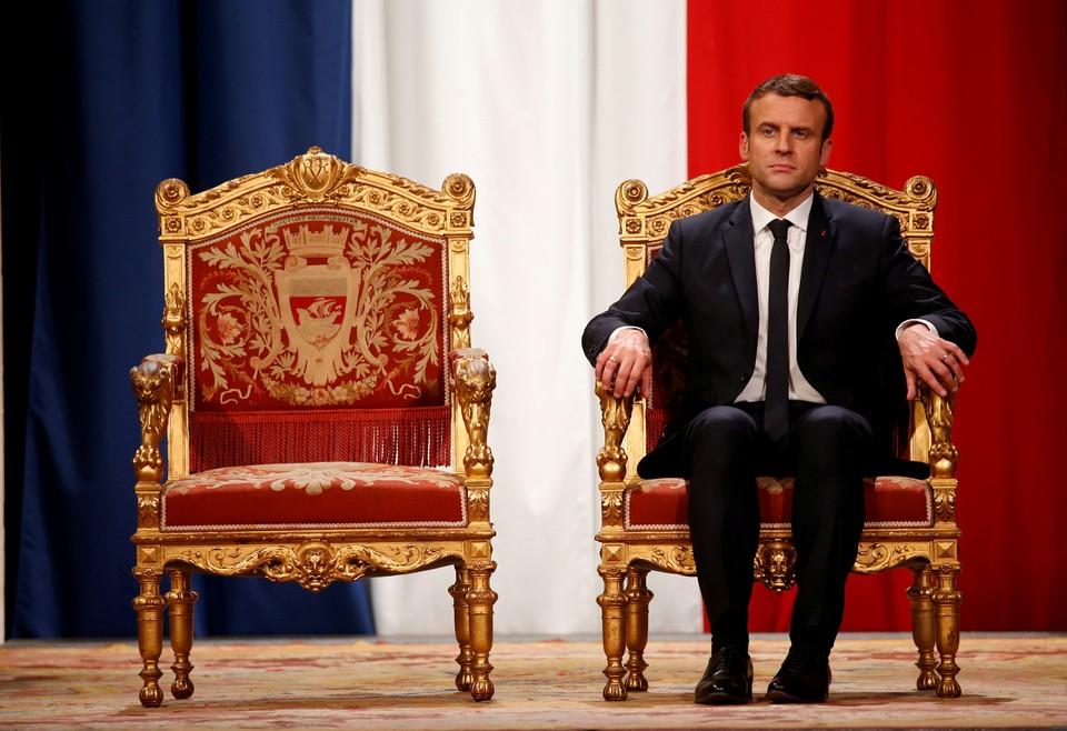 Французский лидер Эммануэль Макрон