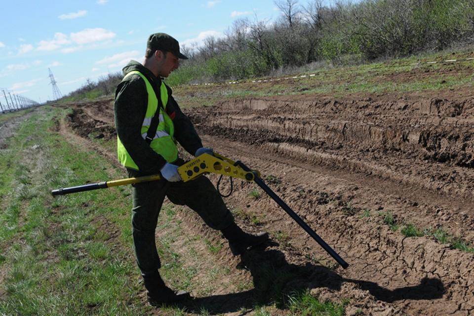 Региональный инженерный центр специализируется на очистке территорий от взрывоопасных предметов. Фото: ООО «РИЦ».