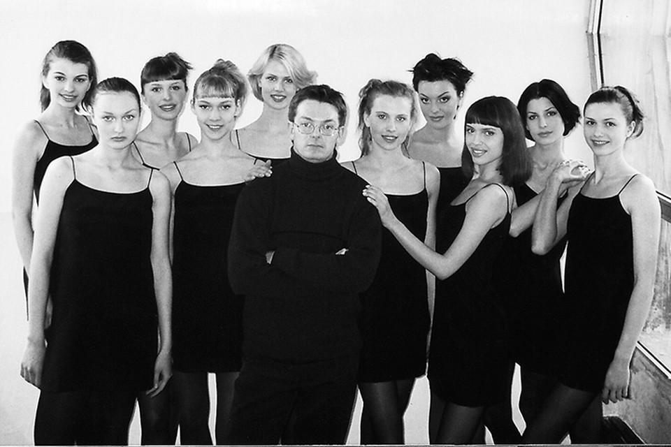 Нагорный руководит Студией моды уже больше 20 лет. Фото из 90-х, личный архив.