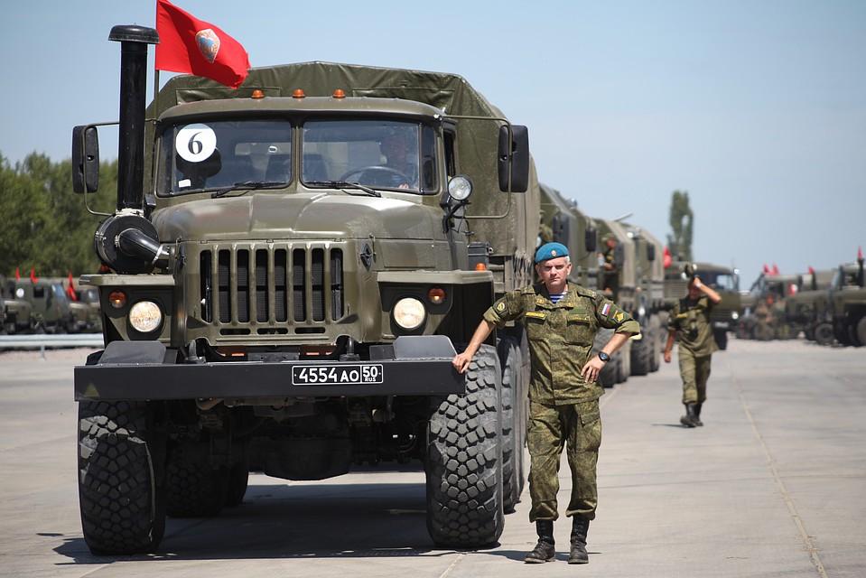картинки про автомобильные войска