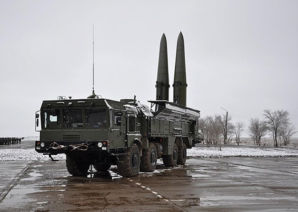 """Ракетный комплекс """"Искандер-М"""". Фото: пресс-служба Южного военного округа"""