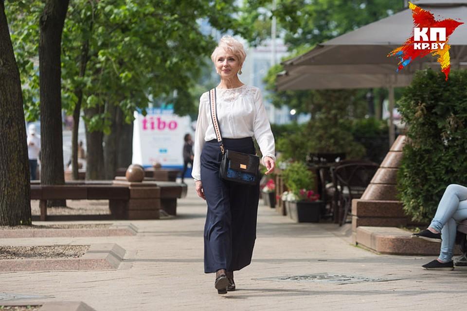 - К семидесяти отключила Ольгу Павловну и стала моделью без возраста