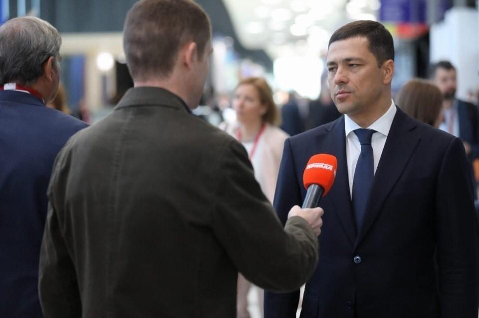 Глава Псковской области Михаил Ведерников рассказал о некоторых соглашениях. которые подписал на площадке форума.