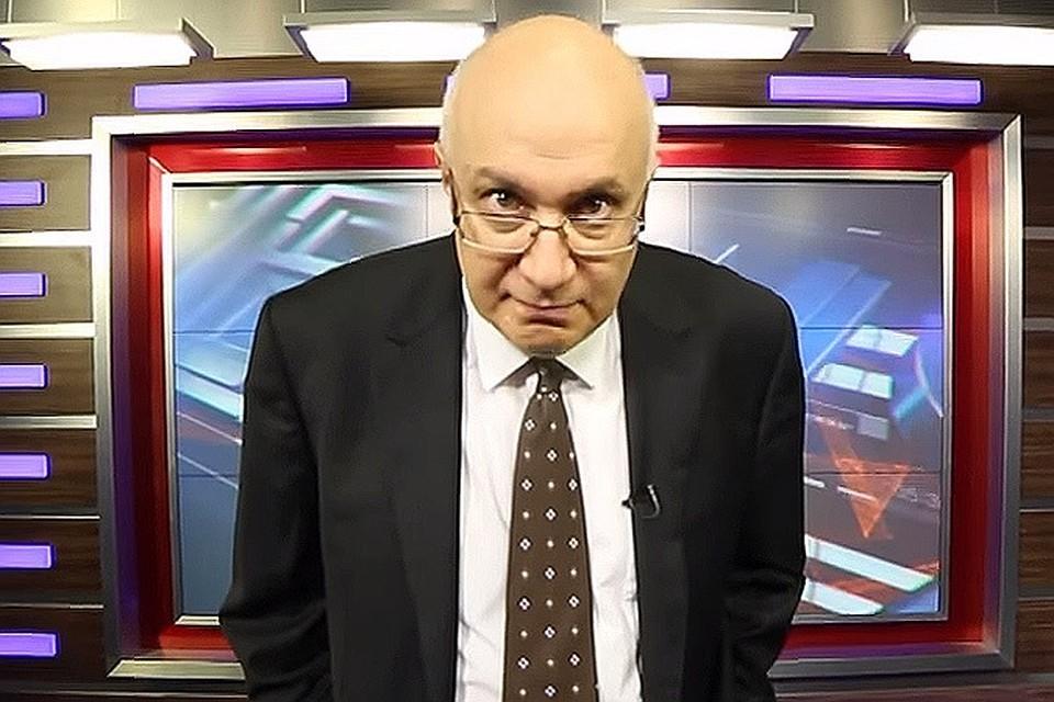 Тележурналист Матвей Ганапольский