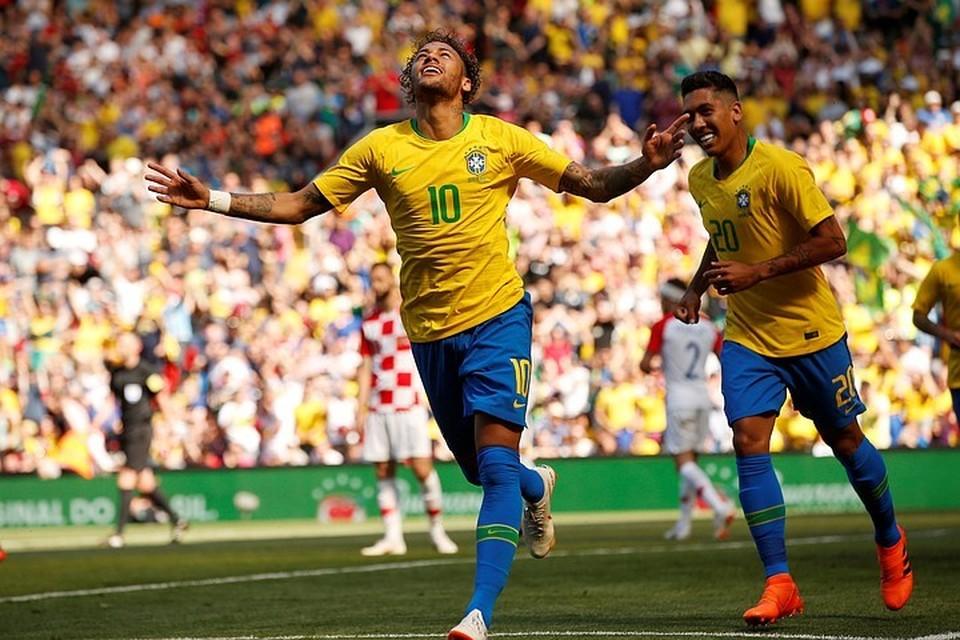 Бразилия сыграет на ЧМ-2018 по футболу в России.