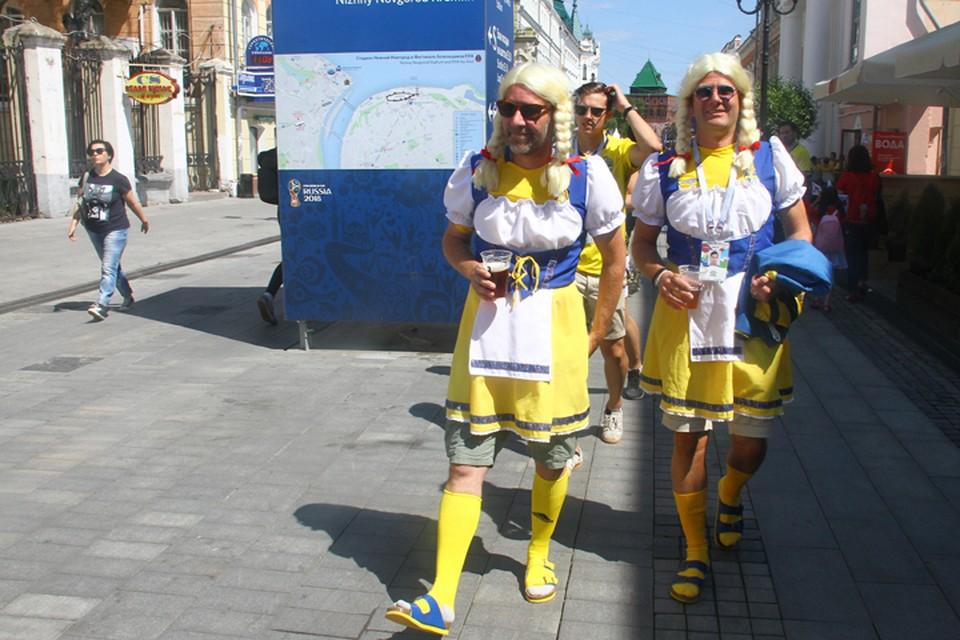 Шведы надолго останутся в памяти жителей приволжской столицы