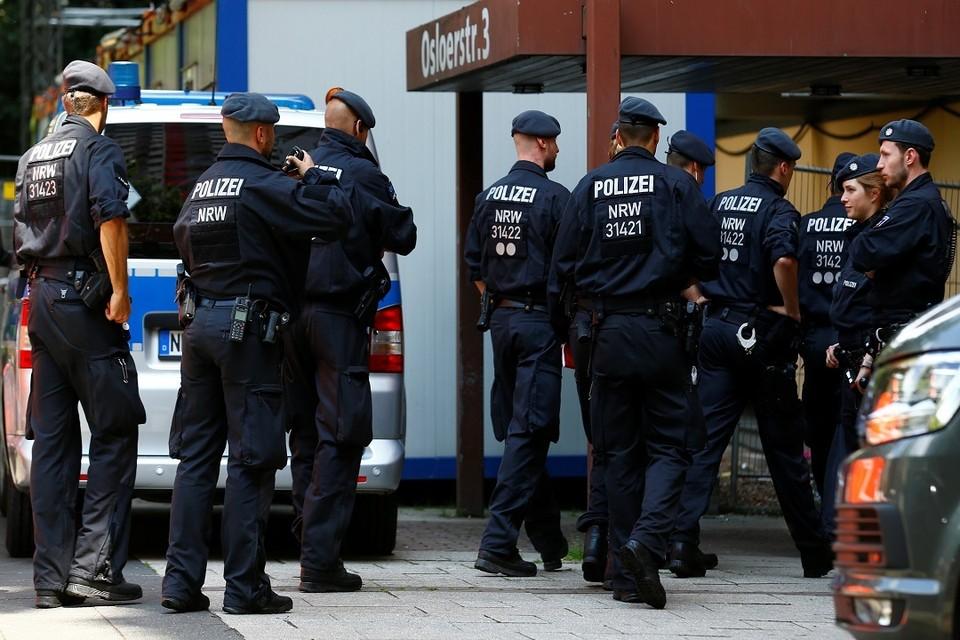 В одной из школ Берлина проводится полицейская операция