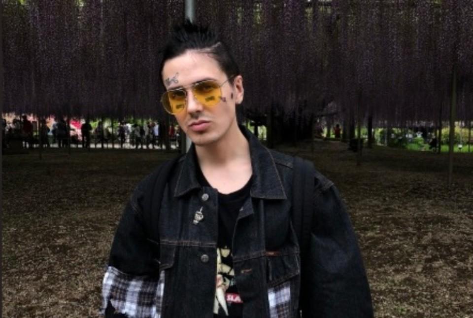 Российский рэпер Face (Иван Дремин)