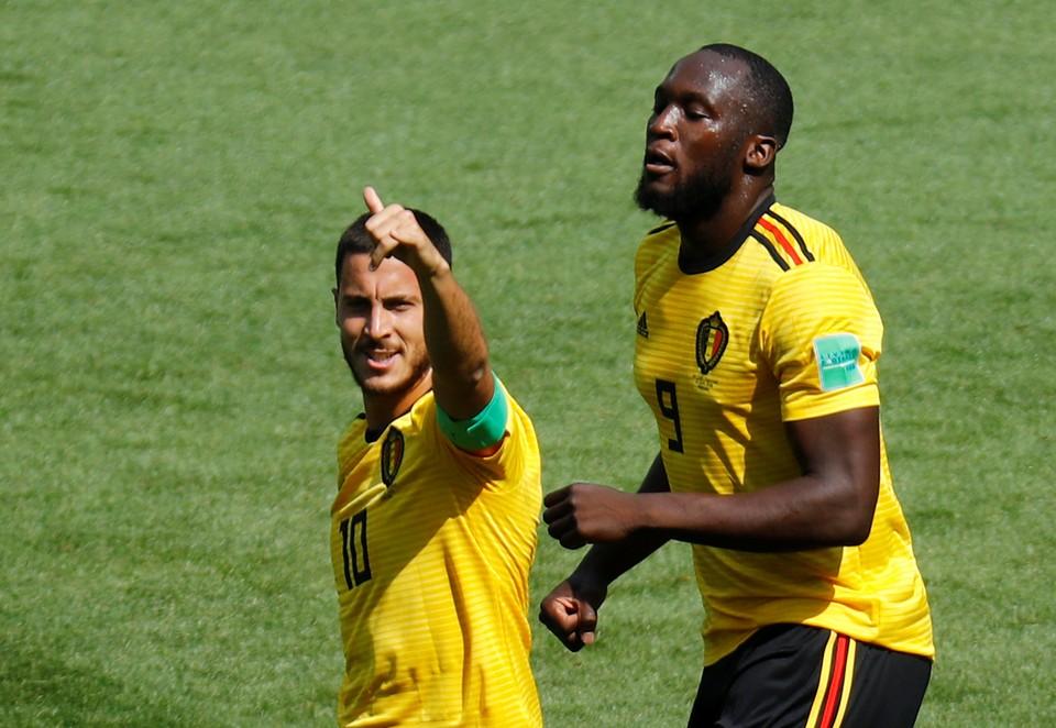 Сборная Бельгии разгромила Тунис 5:1.