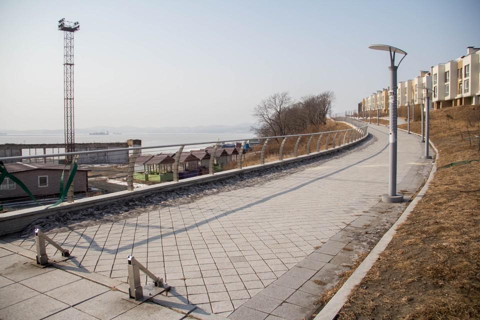 Жилой комплекс Патрокл один из самых молодых во Владивостоке
