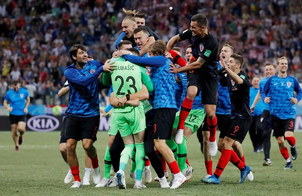 1 июля на стадионе «Нижний Новгород» сыграли сборные Хорватии и Дании
