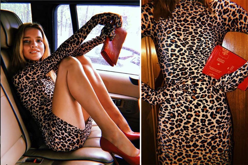 Наталья Водянова в туфлях и с сумочкой грузинского дизайнера Демны Гвасалия. Фото: Инстаграм.