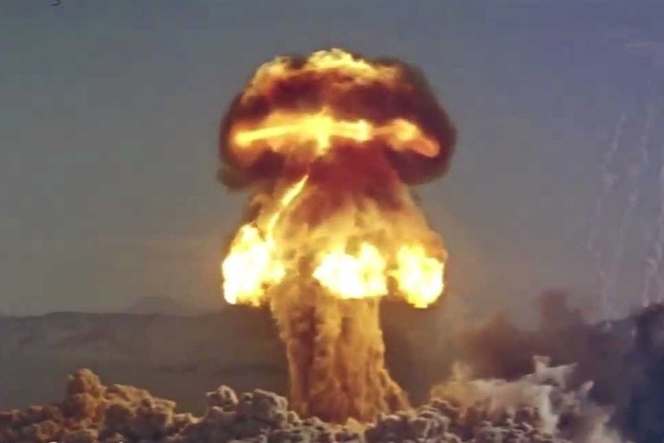 В США рассекретили видеозаписи ядерных испытаний 50-х и 60-х годов