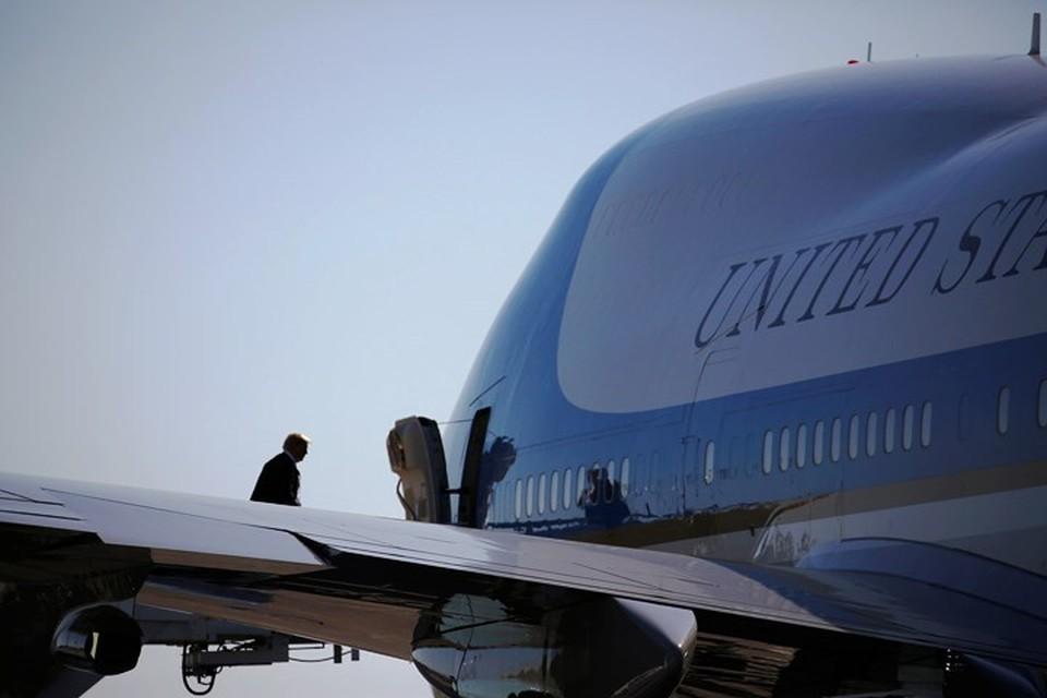 Президент США Дональд Трамп совершит европейское турне