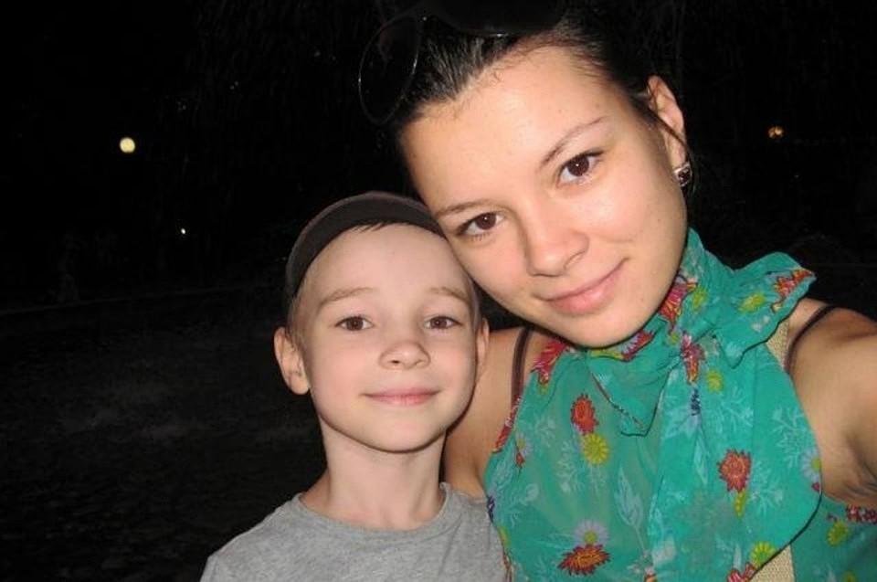 Елена с сыном до болезни. Фото: из архива Елены Пыдык.