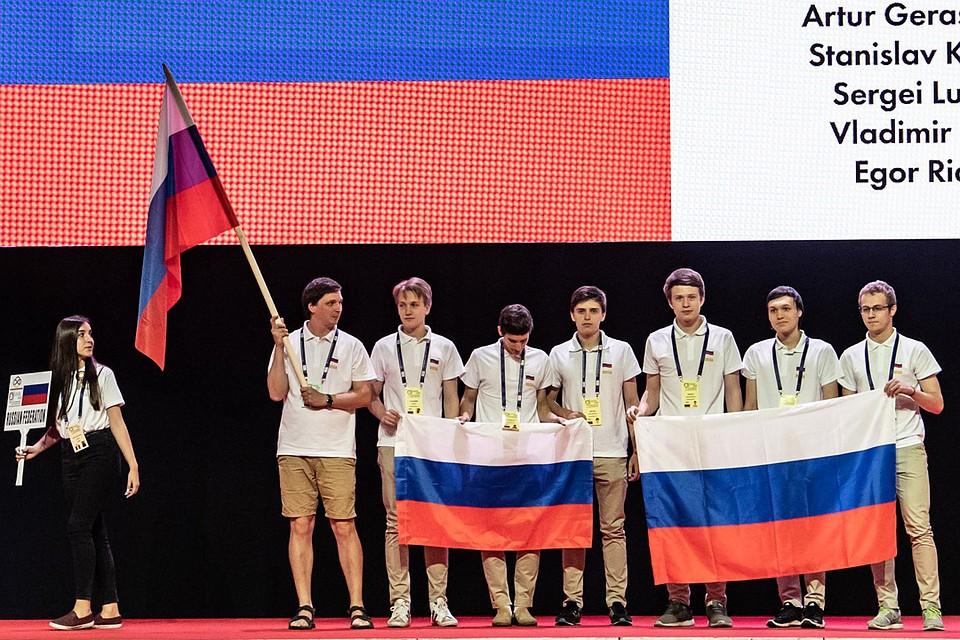 Россйская сборная заняла третье место на 59-ой Международной математической олимпиаде. Фото: Пресс-служба Министерства просвещения