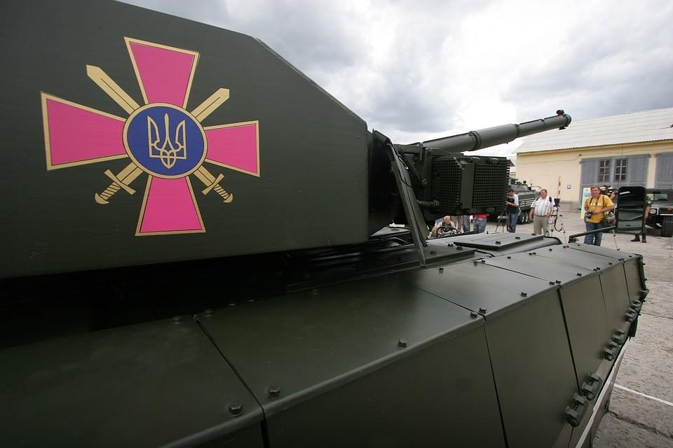 """Украинский танк """"Оплот"""". Фото: ИТАР-ТАСС/ Владимир Синдеев"""