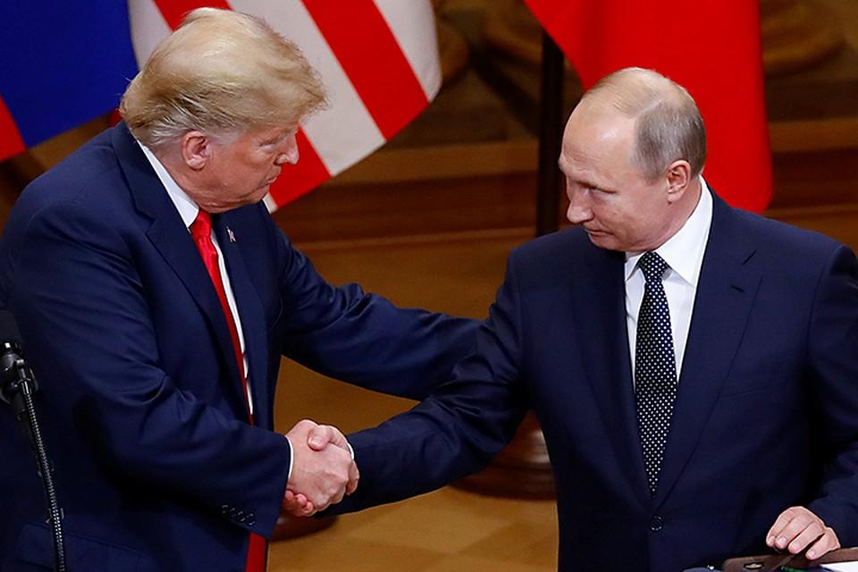 Переговоры с господином Дональдом Трампом прошли в откровенной и деловой атмосфере, заявил Владимир Путин