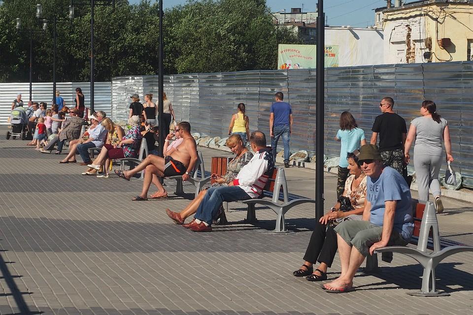 f6625da17450 Июль-2018 в Мурманской области назвали самым жарким за последние 9 лет