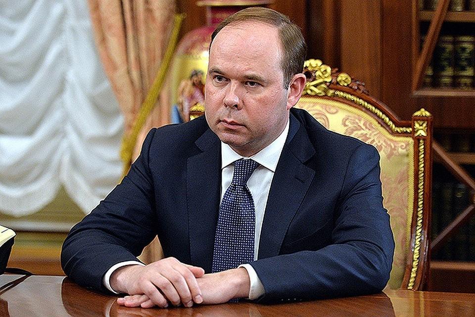 Антон Вайно. ФОТО Алексей Дружинин пресс-служба президента РФ ТАСС